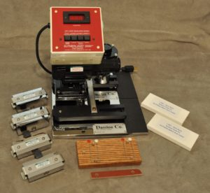 Sutherland dual tester for abrasion resistance