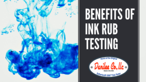 Benefits of Ink Rub Testing